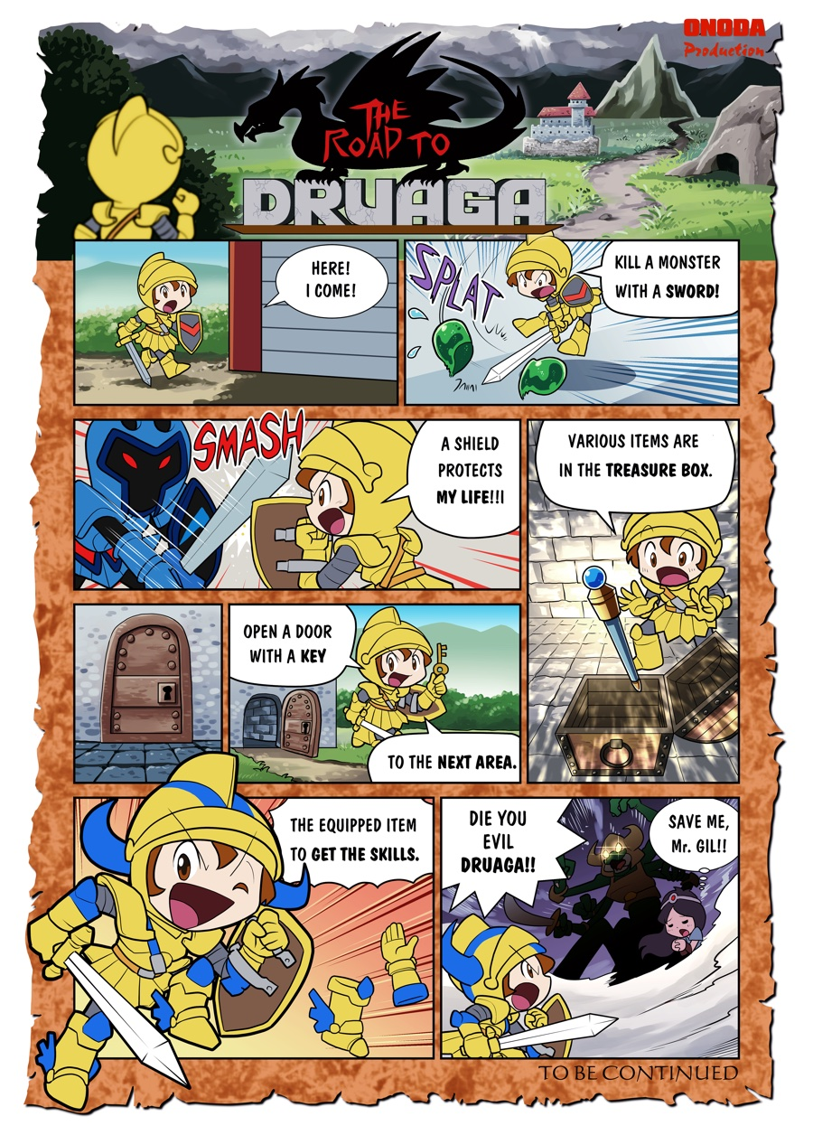THE ROAD TO DRUAGA